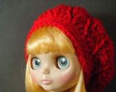 Red Slouch Hat for Blythe