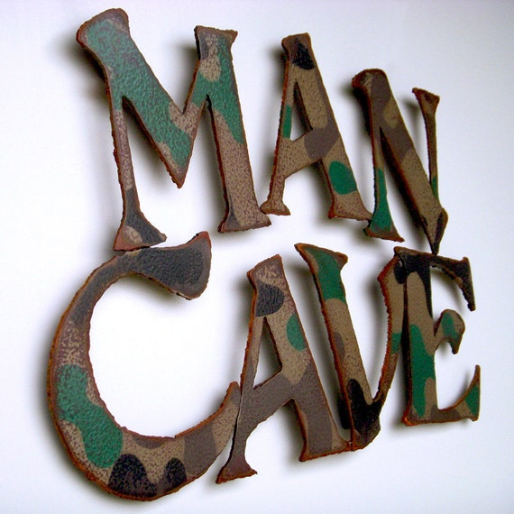 Man Cave Metal Wall Art : Man cave metal wall art wide by functionalsculpture