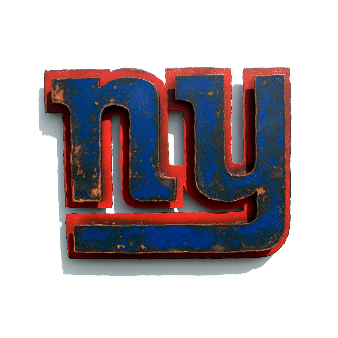 New York Giants 3D wall art metal emblem by FunctionalSculpture