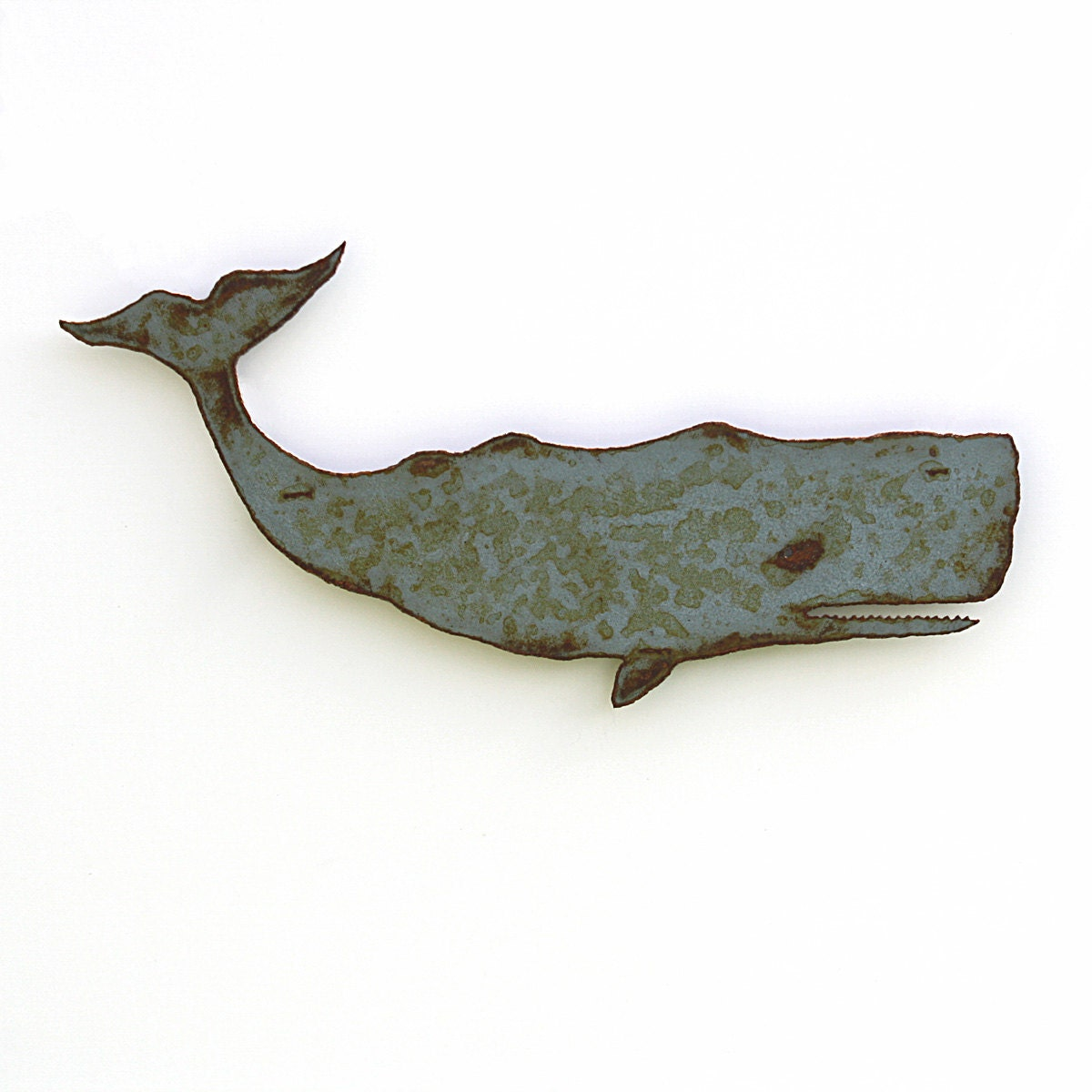Whale Metal Wall Art Moby Dick Sperm Whale 24 Indoor