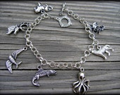 Game of Thrones charm bracelet- thick chain- custom size