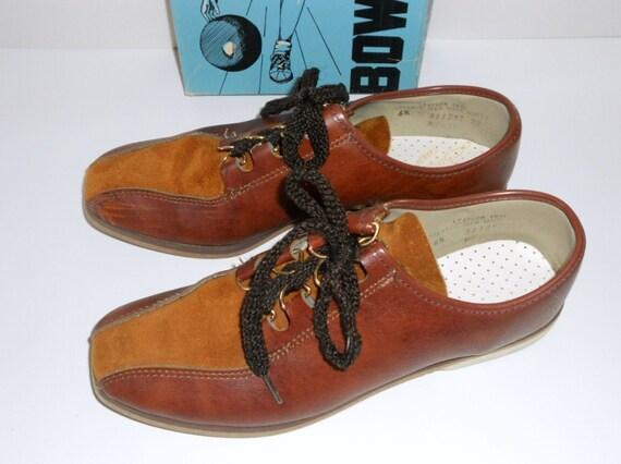 Oxford Bowling Shoes 6.5  Women's 6-1/2 Circle-O-Comfort Endicott Johnson