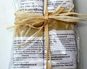 Soap Sample Travel Pack Honey Men Women  Christmas Stocking Filler Valentines Mothers Day Gift UK Seller