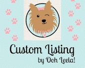 Reserved for Lisa and her babies - custom listing