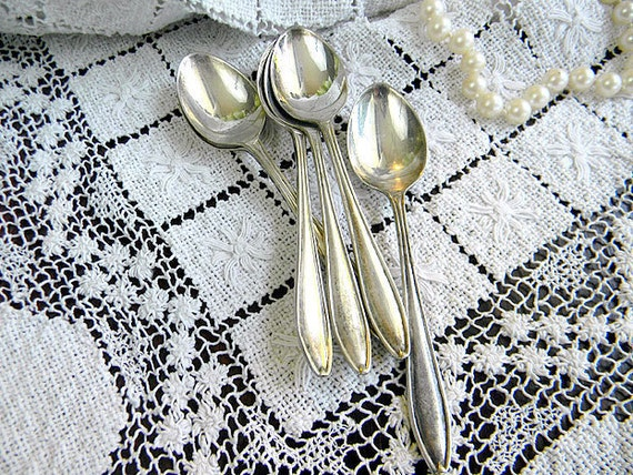 EPNS Tea Spoons - Set of 6 Silver Plated Teaspoons 7103