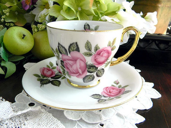 Westminster  Bone China Teacup Tea Cup and Saucer Made in Australia 6253