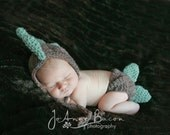 Crochet dinosaur pattern - crochet hat pattern - crochet diaper cover pattern - crochet patterns
