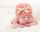 Scallop hat crochet pattern - Crochet patterns - hat crochet patterns - baby girl crochet hat pattern