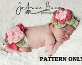 Crochet diaper cover pattern - baby crochet patterns - CROCHET PATTERN