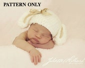 crochet patterns, crochet hat patterns, lamb hat pattern, lamb beanie pattern, crochet beanie patterns, lamb photo props, photo prop pattern