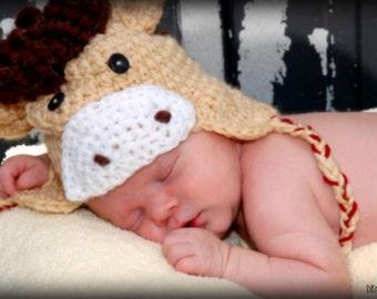 hat crochet pattern, horse hat pattern, farm animal props, photo prop patterns, infant hat crochet patterns, baby crochet patterns