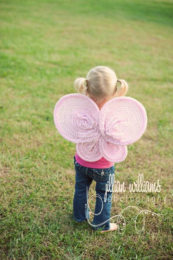 crochet pattern, girl crochet patterns, photo prop patterns, butterfly wings crochet pattern, dress up patterns, photography props