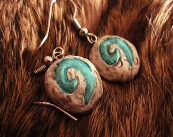 Hearthstone Earrings