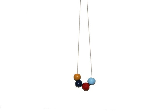 baby ball necklace