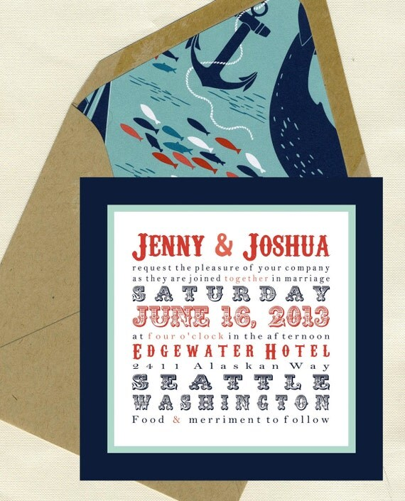 Jenny & Joshua Wedding Invitation Set
