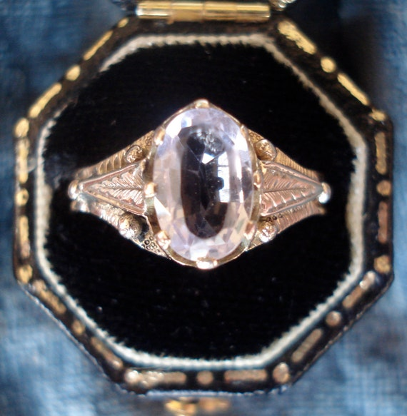 Antique Victorian Amethyst Ring