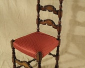 Antique Coat of Arms Side Chair - Immaculate Woodwork