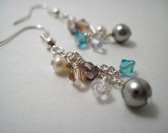 Sweet & Sparkly Swarovski Earrings REDUCED PRICE