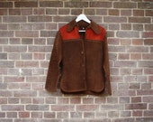 70's Rusted Brown Suede Jacket