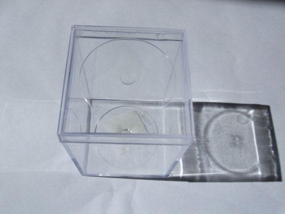 Destash Three Clear Acrylic Boxes