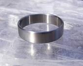 Custom Titanium Band Ring Wedding Band