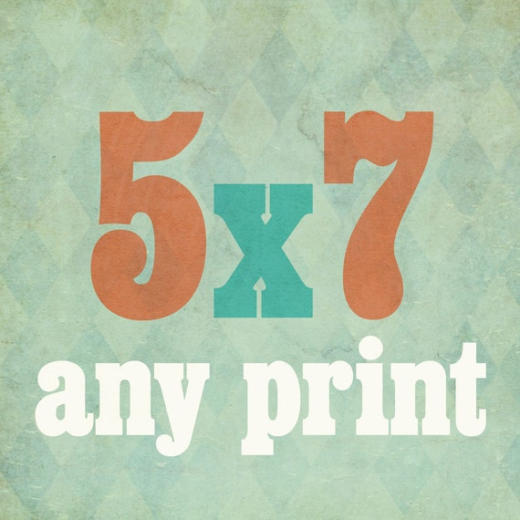 Wicked Paper Co Typography Art Print // 5x7
