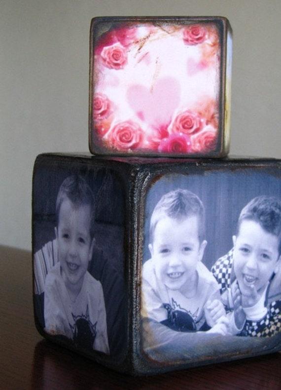 Personalized Photo blocks