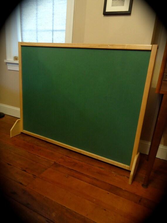 Vintage Green School Chalkboard