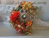 Vintage Brooch Bouquet - CUSTOM Made to Order - Large