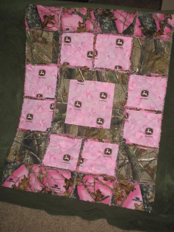 Custom Order Pink John Deere Realtree Camo And Mossy Oak