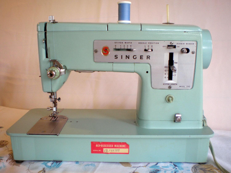 1960s singer sewing machine