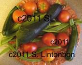 Fresh garden vegetables- Digital JPEG File Emailed to you