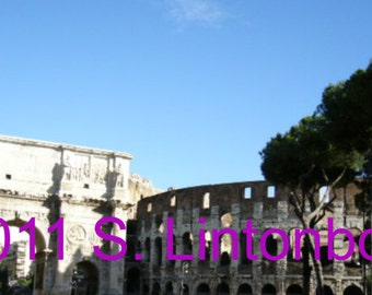 Arch of Constantine-Colosseum - Rome, Italy - Digital JPEG File Emailed to you