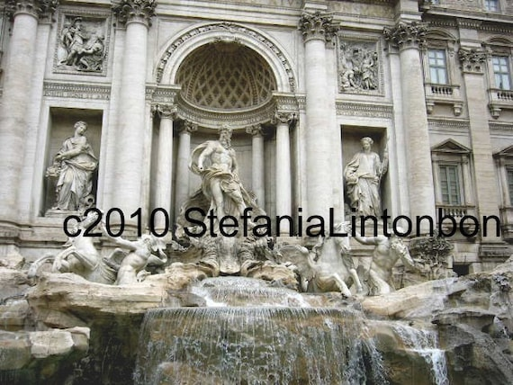 Trevi Fountain - Rome, Italy - Digital image