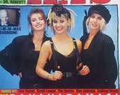 Vintage 80s Star Hits Magazine December 1986  Bananarama  Max Headroom  The  B52s The Pet Shop Boys