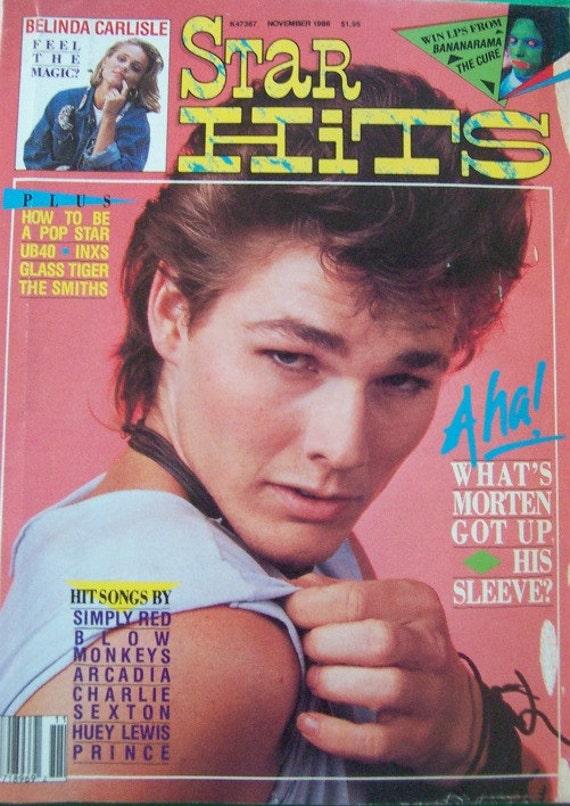 Star Hits Magazine - November 1986
