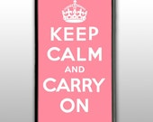 Keep Calm and Carry On : iPhone 4 Case, iPhone 4s Case, iPhone 4 Hard Case, iPhone Case