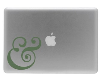 Ampersand - Vinyl Decal Sticker for your Macbook or Laptop