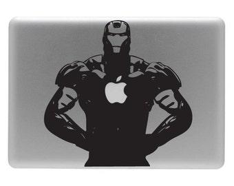 IronMAN - Vinyl Decal Sticker for the Apple Macbook
