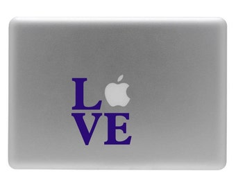 LOVE - Vinyl Decal Sticker for the Macbook