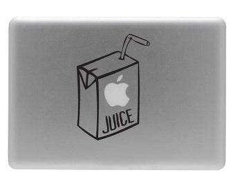 Juice Box - Vinyl Decal Sticker for the Macbook