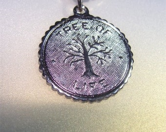 Spiritual Tree of LIFE Charm in STERLING Silver