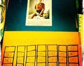 2011 Handmade, Handlettered, Handassembled Original Photography Calendar
