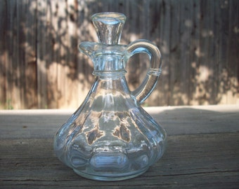 CLEARANCE Antique Cut Glass Cruet