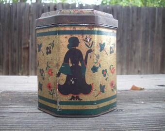 Vintage Tole Tin