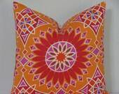 "Trina Turk 20"" x 20"" Soleil L.A. Print in Sunset Decorative Designer Pillow Cover - Indoor/Outdoor"