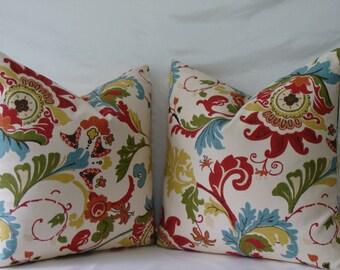 Jacobean Pillow Etsy