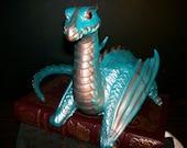 Hand Painted Shoulder Dragon - Custom Paint, Custom Eye Color