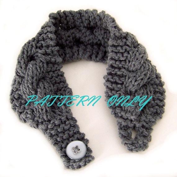 Headband Head Wrap Knitting Pattern : PDF Knitting Pattern headband head wrap earwarmer knitting