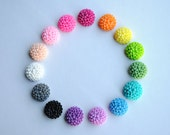 Chrysanthemum Earring Collection: Pick your color